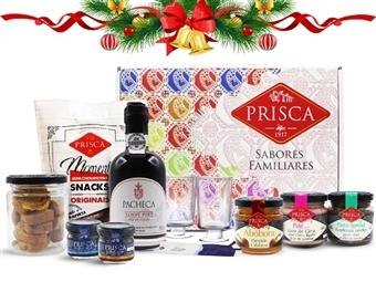 Mala Portugalidade SABORES com Vinho do Porto da CASA DA PRISCA desde 13€. Composta por 10 deliciosos produtos! PORTES INCLUÍDOS.