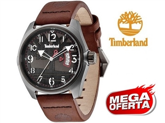 Relógio de Pulso TIMBERLAND Sherington Dark Brown por 51€. O presente ideal para o Homem que gosta da Natureza. PORTES INCLUÍDOS.