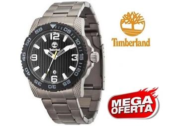 Relógio de Pulso TIMBERLAND Sandown Black por 44€. O presente ideal para o Homem que gosta da Natureza. PORTES INCLUÍDOS.