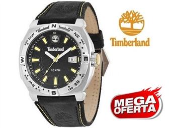 Relógio de Pulso TIMBERLAND Rindge Black por 61€. O presente ideal para o Homem que gosta da Natureza. PORTES INCLUÍDOS.