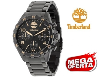 Relógio de Pulso TIMBERLAND Pelhem Black por 77€. O presente ideal para o Homem que gosta da Natureza. PORTES INCLUÍDOS.