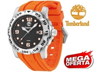 Relógio de Pulso TIMBERLAND Belknap Orange por 53€. O presente ideal para o Homem que gosta da Natureza. PORTES INCLUÍDOS.