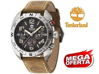 Relógio de Pulso TIMBERLAND Oakwell Brown por 71€. O presente ideal para o Homem que gosta da Natureza. PORTES INCLUÍDOS.