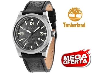 Relógio de Pulso TIMBERLAND Knowles Black por 61€. O presente ideal para o Homem que gosta da Natureza. PORTES INCLUÍDOS.