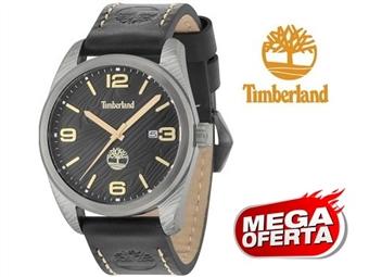 Relógio de Pulso TIMBERLAND Jaffrey Black por 62€. O presente ideal para o Homem que gosta da Natureza. PORTES INCLUÍDOS.