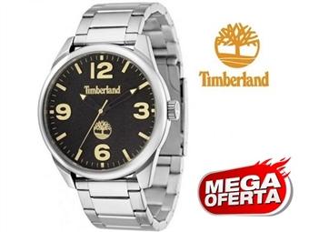 Relógio de Pulso TIMBERLAND Holliston Silver and Black por 61€. O presente ideal para o Homem que gosta da Natureza. PORTES INCLUÍDOS.