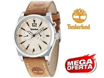 Relógio de Pulso TIMBERLAND Brant Beige por 65€. O presente ideal para o Homem que gosta da Natureza. PORTES INCLUÍDOS.