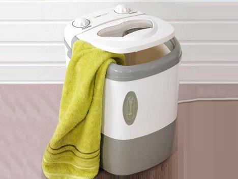 Máquina de lavar roupa portátil da clatronic
