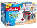 Balde com Pedal e Esfregona da VILEDA para uma limpeza de chão sem esforço.