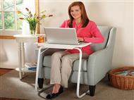 Mesa Portátil Dobrável com 18 posições para comer ou trabalhar na cama ou sofá.