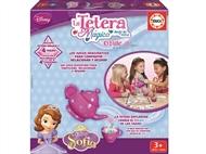 O Bule Mágico da Princesa Sofia. Sirva o chá com bule e as chávenas mudam magicamente de cor.