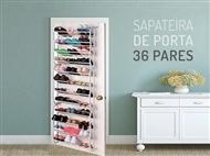 Sapateira de Porta para 36 Pares de Sapatos. A solução ideal para sua casa. PORTES GRÁTIS.
