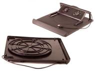 Suporte e Refrigerador de Portátil com 2 Ventiladores Silenciosos por Ligação USB.