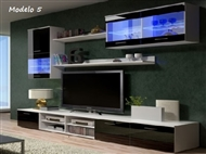 Conjunto de Móveis de Sala Lúcia Modelo 5. Uma excelente oportunidade para mudar a sua sala.