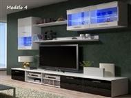 Conjunto de Móveis de Sala Lúcia Modelo 4. Uma excelente oportunidade para mudar a sua sala.