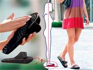 Sandálias com Inclinação de 9º: Benéfico para todo o Corpo.