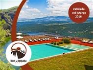 Hotel da Montanha 4*: 1 a 3 Noites com Jantar, Sauna, Banho Turco, Espaço Fitness e Piscina em Pedrogão Pequeno desde 29.50€ até Março 2016.