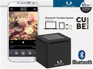 Coluna Bluetooth Portátil Rockbox Cube Preta. VEJA O VIDEO. Minúscula mas Poderosa.