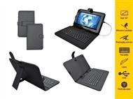 Capa Universal com Teclado e Suporte para Tablet 7