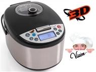 Robot de Cozinha Vission com Aquecimento 3D, Instruções de Voz, 12 Programas, 5 Litros, etc.