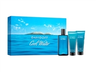 Coffret DAVIDOFF COOL WATER para Homem: Eau de Toilette, After Shave Balm e Shower Gel