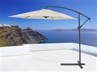 Guarda-Sol com Cobertura Resistente à Chuva e Raios UV do Sol.