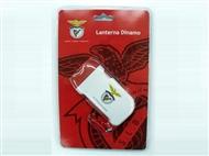 Lanterna Dínamo do Sport Lisboa e Benfica com 2 Leds e sem Pilhas.