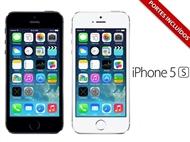 iPhone 5s Desbloqueado com Memória de 16 GB e 2 Cores à escolha.