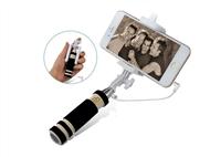 Braço Extensível Selfies para Smartphone com Botão Disparador Incorporado