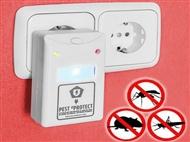 2 Repelentes Elétricos Pest eProtect. Mantém a tua casa livre de roedores e insectos.