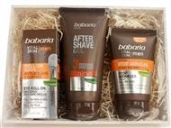 Caixa Vital Skin para HOMEM da BABARIA com After Shave Gel 3 Efeitos, Stop Rugas e Anti-Olheiras.