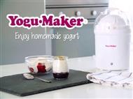 Iogurteira Yogu·Maker. VEJA O VIDEO. Uma forma simples de fazer o seu próprio iogurte caseiro.