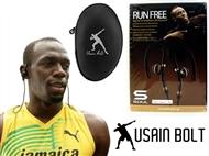 Auriculares Bluetooth Run Free by Usain BOLT com Super Som by Soul. PORTES INCLUIDOS.