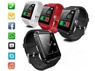 SmartWatch com Ligação Bluetooth ao Telemóvel, Mãos-Livres e Função Alarme Anti-perda.