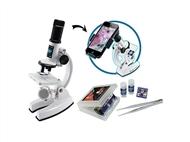 Smart Microscope: Utiliza o teu smartphone e filma as tuas próprias preparações microscópicas.