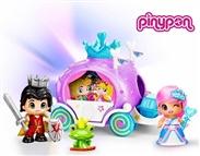 Pinypon Carruagem com Príncipe e Princesa: Vêm para tornar os teus contos uma realidade!