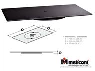 Base Rotativa para a sua Televisão em vidro temperado com rotação de 360º!