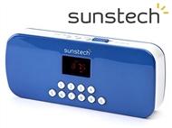 Rádio Digital Portátil com memória até 40 estações, leitor de cartões, MP3 e muito mais!