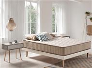 Colchão Viscoelástico Luxury Eco Tencel com 27cm de altura e Tecido de Fibras Ecológicas Naturais.