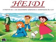 Teatro Infantil HEIDI no Teatro Villaret em Lisboa.
