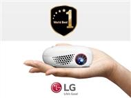 Projetor Portátil LG com Lâmpada LED de 100 Lumens e Projeção da tela de até 100
