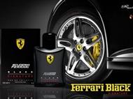 Ferrari Scuderia Black 125 ml para Homem. Uma Fragrância de Performance e Luxo.