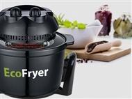 Fritadeira Ecológica sem Óleo: Cozinhe 3 vezes mais Rápido e Economize 60% de Energia