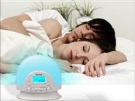 Rádio-Despertador com Luz Natural Progressiva
