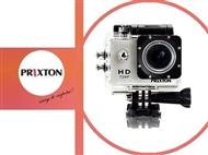 Câmara de Video Digítal Multi-Sport Prixton com um Ecrã Resistente à Água e uma Caixa Estanque