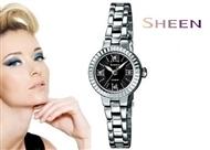 Relógio de Pulso CASIO SHEEN com Cristais Swarovski.