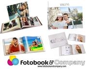 Álbum Fotográfico Personalizado de 24 Páginas com Capa Dura
