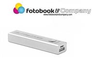 Power Bank com Personalização Laser e cabo micro USB