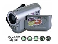 Câmara de Video Digital Prixton. Função vídeo, Foto, Sensor de imagem, Temporizador e Luz Noturna.