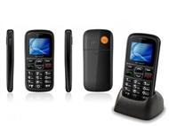 Telemóvel para Seniores com Botão SOS e SMS com Localização, Teclas Grandes e Ajuda Vocal